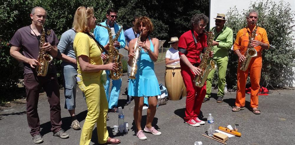 fanfare nantes rezé saxophone anchahuteurs